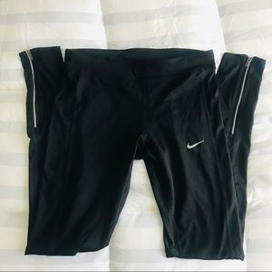 Nike Dri-Fit Running Tights Ankle Zip